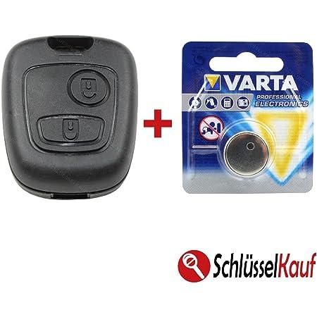 Autoschlüssel Batterie Passend Für Peugeot 107 206 207 Elektronik