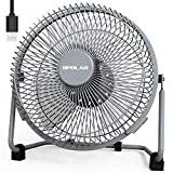 OPOLAR 9 Inch Metal Desk Fan, Enhanced Airflow, Lower Noise, USB Powered ONLY