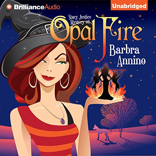 Opal Fire audiobook cover art