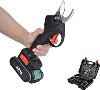 Sponsored Ad – soundwinds Professional Cordless Electric Pruning Shears With Screen, 2PCS Backup Rechargeable 2Ah Lithium ...
