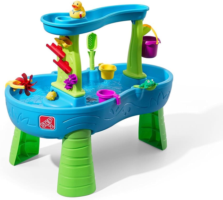 ordene ahora los precios más bajos Step Step Step 2-874600 Rain Showers Splash Pond Water Table, Color azul, verde, Select (Step2 874600  opciones a bajo precio
