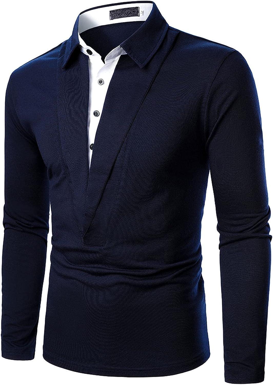 Long Sleeve Compression Shirt Mens Gifts for Men Mens Long Sleeve Shirts Casual Shirts for Men Long V Neck Dress Shirt
