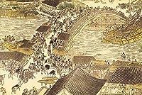 中国の有名な絵画プレミアム素材-ギフトや家の装飾に適した1000ピースのジグソーパズル大人のティーン向けの大きなパズルゲームのアートワーク