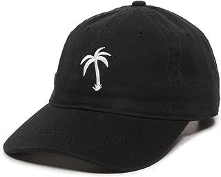 black palm tree hat