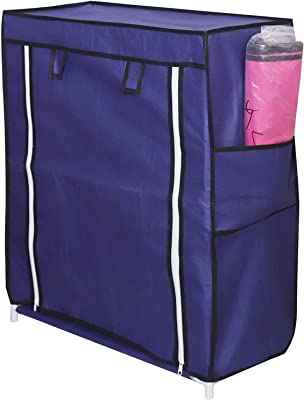 3-Layer Shoe Rack Stand Shoe Protected from Weather & Dust(Blue)