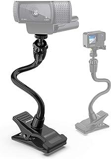 Smatree Webカメラ マウント ウェブカメラ クランプマウント、フレキシブルホルダースタンド ロジクール ウェブカメラ 用 Logitech Webcam, WEBカメラ eMeet C960 ウェブカメラ にもご対応