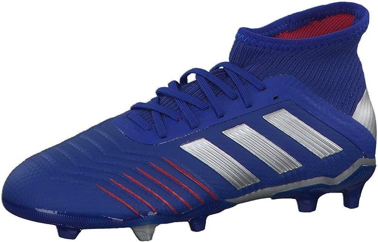 Adidas Prougeator 19.1 FG J, Chaussures de Football Mixte Enfant