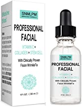 Professional Facial Infused with Clinically Proven Fision Wrinkle Fix, Collagen, Stem Cell, and Vitamin C to Help Lift and...