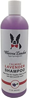 Warren London Calming Lavender Pet Shampoo w/Aloe Vera, Vitamins, Coconut - 17oz & 1 Gallon Sizes - Made in USA