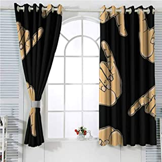 Rchangquxu Curtains Bathroom Window Greeting Card Template with Title Happy Norooz Persian New Year Curtains for Party Decoration