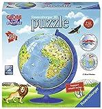 Ravensburger 12339, Puzzle 3D Carte Du Monde XXL 180 Pièces