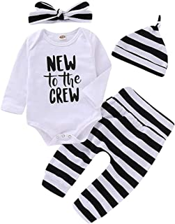 Saeaby Baby Girl Clothes Baby Boy Winter Outfits for Baby Girls Fall Outfits with Hat