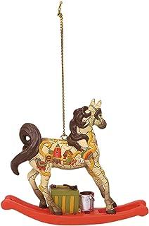 Enesco Trail of Painted Ponies Santa's Workshop Ornament