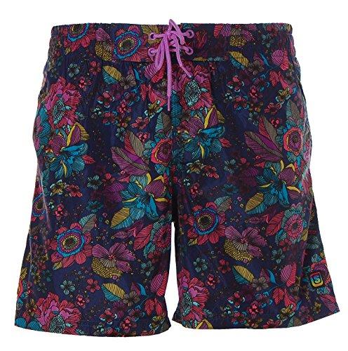 Shiwi Herren Badeshorts Boardshorts Badehose Swimshorts Shorts Navy L