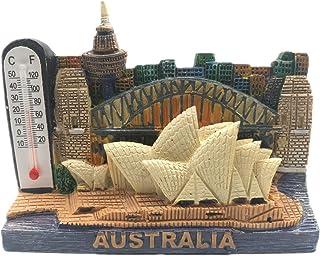 Sydney Opera House Australia Fridge Magnet 3D Resin Handmade Craft Tourist Travel City Souvenir Collection Letter Refrigerator Sticker