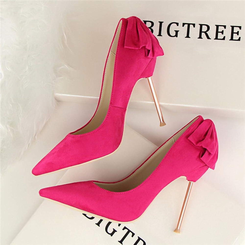 XSY Elegante Spitzen Frauen Pumps Fashion Solid High Heels Schuhe