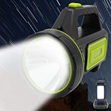 LED Handheld Flashlights, XUNATA 2 Modes 13500LM Rechargeable LED Flashlight High Power Outdoors Camping Hunting Handed La...