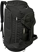 HAOMUK 3-Way Gym Duffle Bag Backpack, Sports Duffle Bag with 2 Shoes Compartment Waterproof Large Bag Travel Exercise Luggage Weekender Overnight Bag for Men/Women 40L