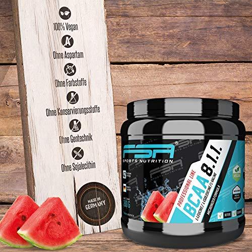 FSA Nutrition BCAA 8:1:1 Vegan-Wassermelone-420g - 4