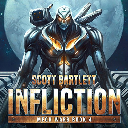 Infliction audiobook cover art