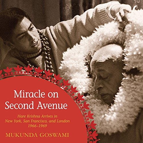 Miracle on Second Avenue audiobook cover art