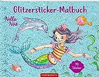 Nella Nixe - Glitzersticker-Malbuch