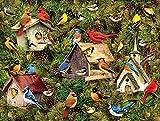 ZHHk Puzzles Puzzles for Adultes Et Enfants 1000 Peices Kits Puzzle en Bois Cadeaux Bricolage Peinture Murale Jeux Éducatifs Jouets 75X50cm (Color : Chalet Bluebird)