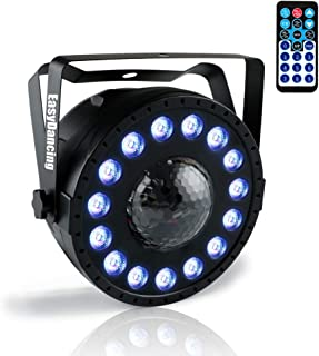 Party DJ Stage Light 2 in 1 (Par Light and Snowflake Light) LED RGB with12CH for Wedding Disco Show Event (Snowflake)