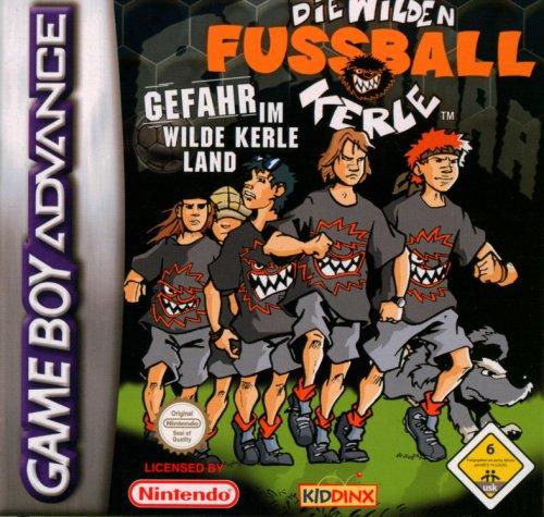 Die Wilden Fußballkerle, Gefahr im Wilde Kerle Land, Game Boy Advance - Spiel Nur für Gameboy Advance