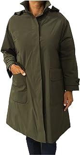ASPESI Giaccone Donna con Cappuccio Verde Militare MOD FRATICELLO 7N15 1943 100% Poliestere Imbottitura THERMORE 100% Poli...