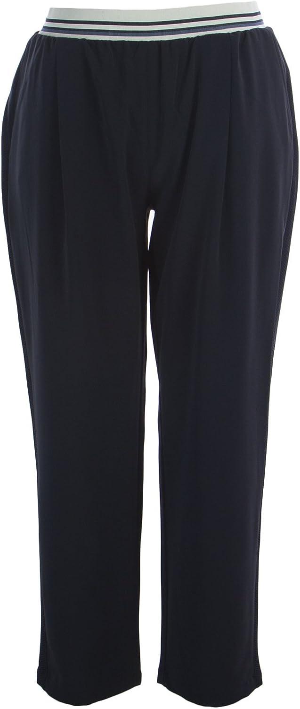 Marina Rinaldi Women's Racconto Casual Pants Navy
