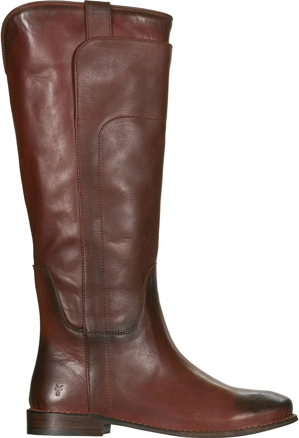 FRYE FRYE Woherren rotwood Paige Tall Riding Stiefel Round Toe rot 6.5 M