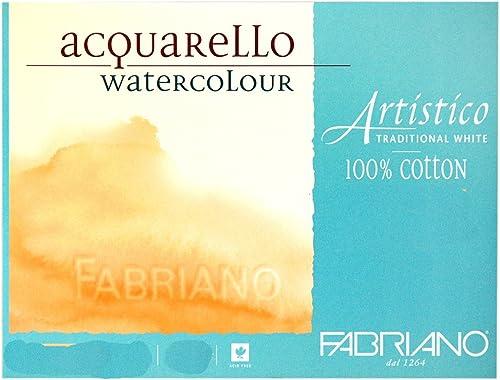 hermoso Papel Acuarela FABRIANO FABRIANO FABRIANO ArtisticoTraditional blanco Grano Fino 300g 56X76cm 10 unidades  ¡no ser extrañado!