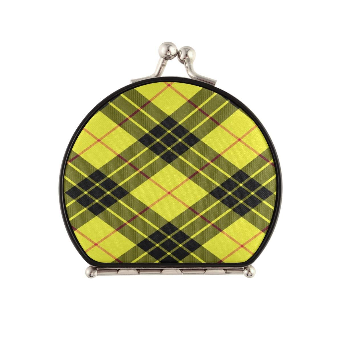 Magnifying Compact Cosmetic Mirror Macleod Kilt Te Tartan mart latest Fabric