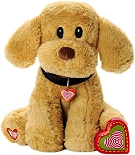 My Baby's Heartbeat Bear Furbaby's: Lab Stuffed Animal with 20 Second Voice Recordable Heart - Labrador
