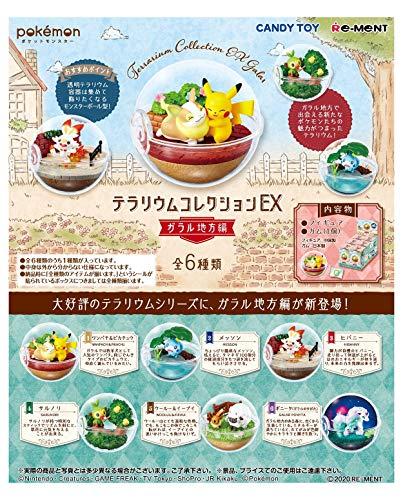 ポケットモンスターテラリウムEXガラル地方編 フルコンプ 6個入 食玩・ガム(ポケモン)