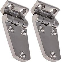 Bisagras de acero inoxidable 2Prisma de esquina 70x 37mm Acero Inoxidable Bisagra de acero inoxidable A4Puerta Bisagra Pomo de puerta bisagra