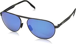Maui Jim Sunglasses | Swinging Bridges 787 | Aviator Frame, Polarized Lenses, with Patented PolarizedPlus2 Lens Technology
