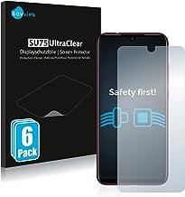 savvies 6-Pezzi Pellicola Protettiva Compatibile con Xiaomi