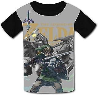 guoweiweiB Camisetas de Manga Corta para niño, The Le_gend of Zel-da Tloz Triforce Unisex Kids T-Shirts 3D Printed Fashion...