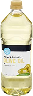 Amazon Brand - Happy Belly Extra Light Tasting Olive Oil, 1.5 Liter