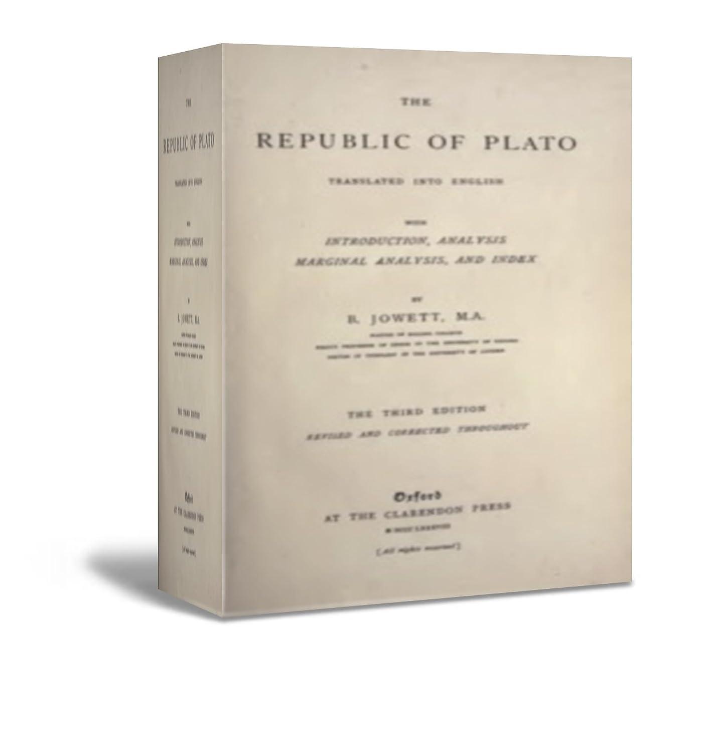 強化ロック膨らみThe Republic of Plato (English Edition)