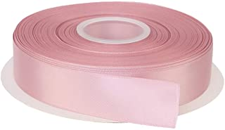 """ITIsparkle 1"""" Inch Double Faced Satin Ribbon 50 Yards-Roll Set for Gift Wrapping Scrap Books Party Favor Hair Braids Baby ..."""