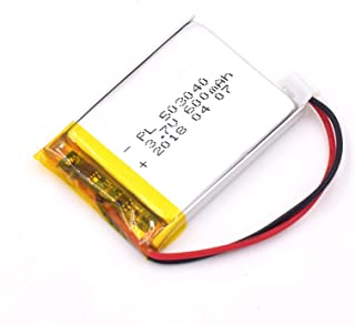 3.7V 600mAh 503040 Lipo battery Rechargeable Lithium Polymer ion Battery Pack with JST Connector