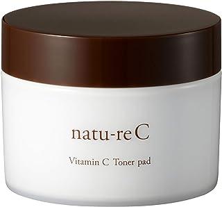natu-reC(ナチュールシー) ビタミンCトナーパッド 拭き取り化粧水 角質ケア くすみ改善 朝晩使える60枚入り日本製