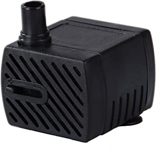 Uniclife Pet Pump Replacement For Smart Pet Fountains, 40-55 GPH Safe 12V Water Pump With 110V Converter
