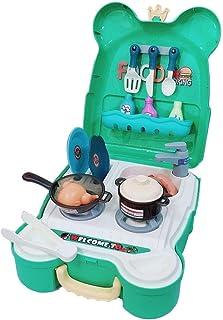 Pretend Play Food for kids, DIY Children Pretend Game Ice Cream Birthday Cake Kitchen Set Toy – Play Food Toys for Kids, B...