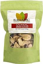 Dried Galangal, Sliced   Greater Galangal – Alpinia Galanga   Perfect for Tom Yum and Tom Kha Soups 3.5 oz.