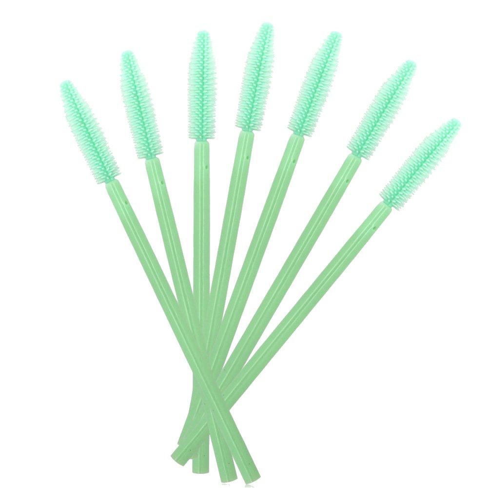 MELADY Silicone Disposable ハイクオリティ Eyelash 新作多数 Wands Applica Mascara Brushes
