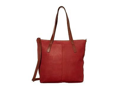 ABLE Alem Utility Bag (Brick Red/Whiskey) Handbags